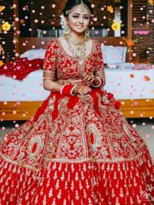Rajasthani Wedding Dress