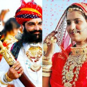 Rajasthani Traditional Jewellery man and woman
